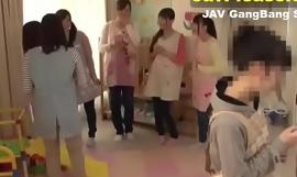 Sex down six Japanese teen girls