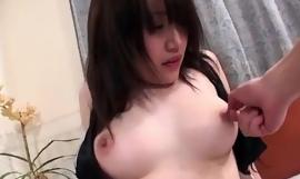 Shizuku Morino impenetrable babe plays nasty on a big horseshit