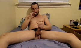 Eating Cum My first video.