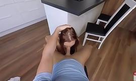 Redhead Ornella Morgan's porn video  first VR sex