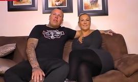 LETSDOEIT - Tattooed German Couple Fucks Hard On Their First SEXtape