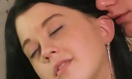 Amateur Juvenile Clasp making Wanton Sex in Bed