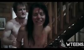 Slutty teen obeys man's desires in a trammel of crazy porn scenes