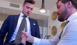 LOGAN MOORE PUNISH HIS ROOMATE TO BORROW IS SUIT WITHOUT ASKING