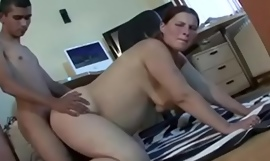 Sex with pregnant milf