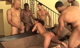 Kumalott - 5 BBC Takes on Big Tits Latina Babe