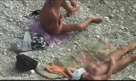 Nudist Beach stroke cruise