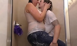 Amazon Vanessa Rain drenched with Boy Toy