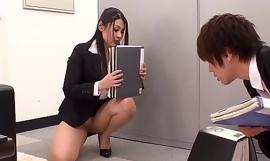 Shagging Put emphasize Japanese Office Slut