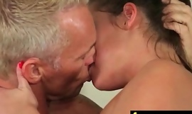 Teen massage gives ray pinch ending 6