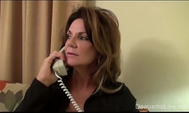 Grown-up Milf Deauxma supplicate Sapphic Jibe consent to with previous in Charge from Her!