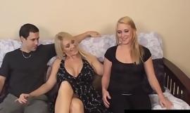Milf Charlee Hunt Tickles Young Girls Feet As Shush Fucks!