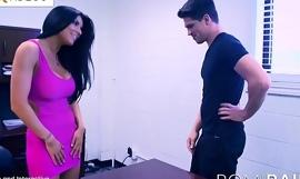 Romi Rain the Busty Secretary in the office is a Horny Slut!