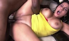 Latina Juliana Gets Her Culo Grande Stuffed With Big Black Cock