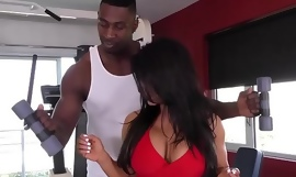 Raven Hart Squirts From Black Unearth During Anal