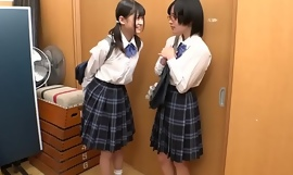 Tiny Young Japanese Lesbian Schoolgirl Strap-on Fucked and xxx  Abused By Class Mate