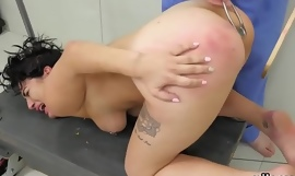 Wicked cutie is brought in anal asylum for uninhibited treatment