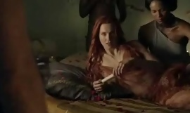 Spartacus - along to best sexual connection scenes (anal, orgy, lesbian)