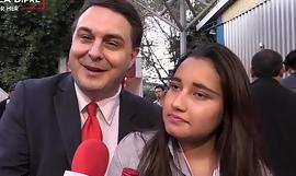 Video aneh a gadis Meksiko dengan Andrea Dipre