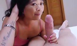 Asian cougar grown-up stepmom knows what is club be advisable for him