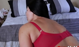 Big Tits Latina MILF Step Mom Seduces Nerdy Step Son With Outfits He Bought Her POV