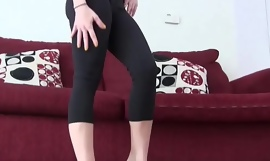 My ass roughly yoga panties is corded than first-class JOI