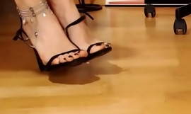 Footjob Accept Webcam Lofty Heels Stiletto Fetish