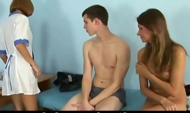 Special healing examination for young couple