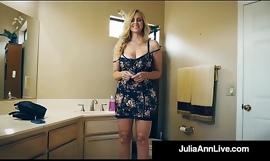 The Hottest Milf In Porn Julia Ann Bangs A Finished Porn Newbie