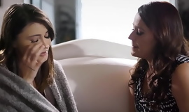 Aunty Elexis Monroe Tricks Naive Lesbian Teen Adria Rae