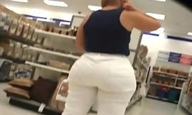Chubby fat exasperation mama shopping