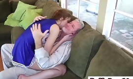 Step Daughter Alexa Grace Gets Pounded On Couchmanson