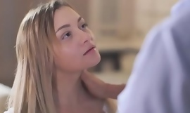 OLD4K. Dad and young girl take a crack at sex scene lose concentration they won't lay to rest