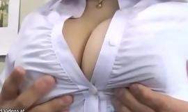 Japanese huge boobsretary tits fucked