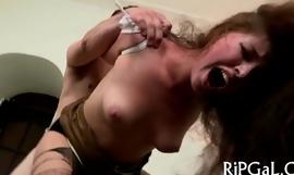 Good anal fuck with slut