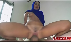 Arab maid paid to fuck their way boss