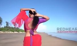 Hot saree photoshoot