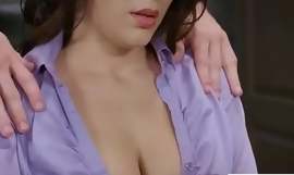 Sex Prevalent Office With regard to Big Upon Knockers Girl (Valentina Nappi) xxx fuck video 29