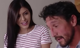 Lustful Babysitter Gives Blowjob and Laid