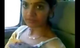 Cute Desi Bhabhi Show Milky Special Here Car Anent Darling