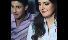indian bollywood actress zareen khan through-and-through sex fucked video