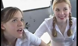 Cum guzzling teens realize a facial foreign cram cup-boy at hand madison sins