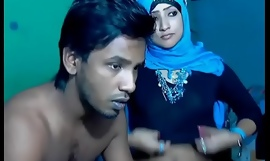 Newly Married South Indian Couple thither Ultra Hot Babe WebCam Represent (7)