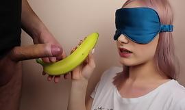 Pygmy step sister got blindfolded approximately fruits game