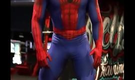 Sexy Spiderman hot bore