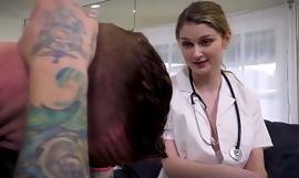 Sexy Nurse Needs a Horseshit Cannon-ball - RealityFuckers porn video