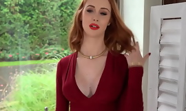 RoccoSiffredi Hot Redhead Gets The Threesome Be fitting of Her Leap With Cumshot