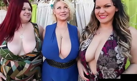 Thick Chicks Angelina Castro Triumvirate Guess and Sam 38G Eat That Big Load of shit