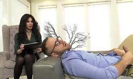 GenderX - Trans Therapist Gives Patient Big Gumshoe Restore to health