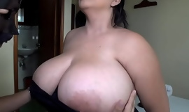 Titillating Latina veldt gets the brush knockers sucked and fucked - Watch FULL Video on: bigtittyvideos porn video